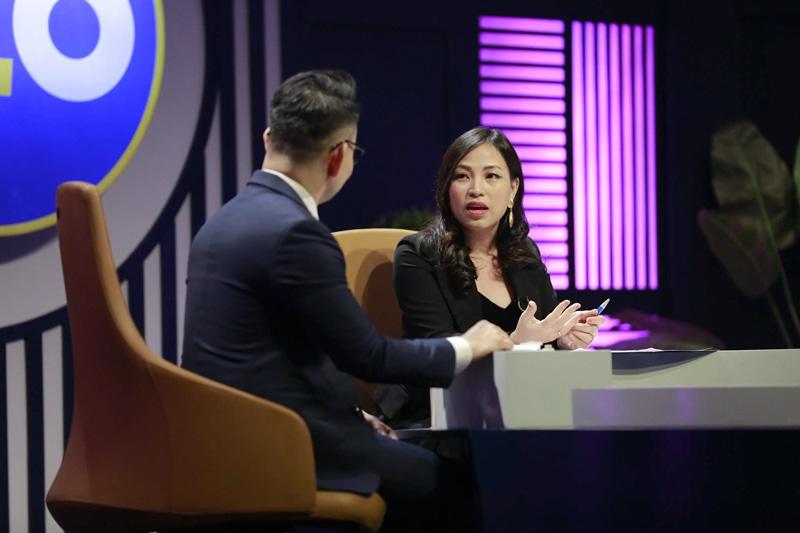 Chị Helen Lan tại chương trình CEO chìa khóa thành công