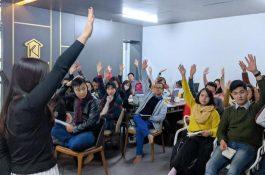 Đào tạo nội bộ đầu năm tại Nội thất Kenli
