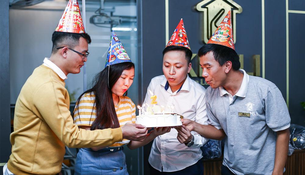 Chào đón sinh nhật của các nhân sự sinh tháng 2