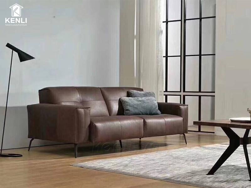 Sofa da thật OSLO F002 văng 2 lớn3