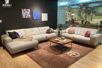 Sofa da thật OSLO F002 full bộ;