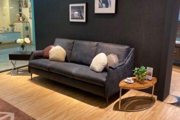 Sofa da thật F010 văng 3;