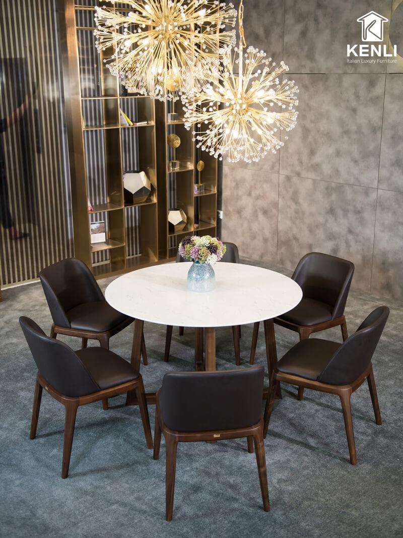 Bộ bàn ăn 6 ghế Gaia