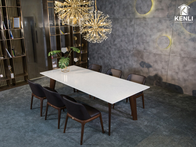 Bộ bàn ăn 6 ghế Howard