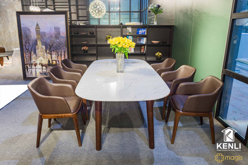 Bộ bàn ăn 6 ghế Mad
