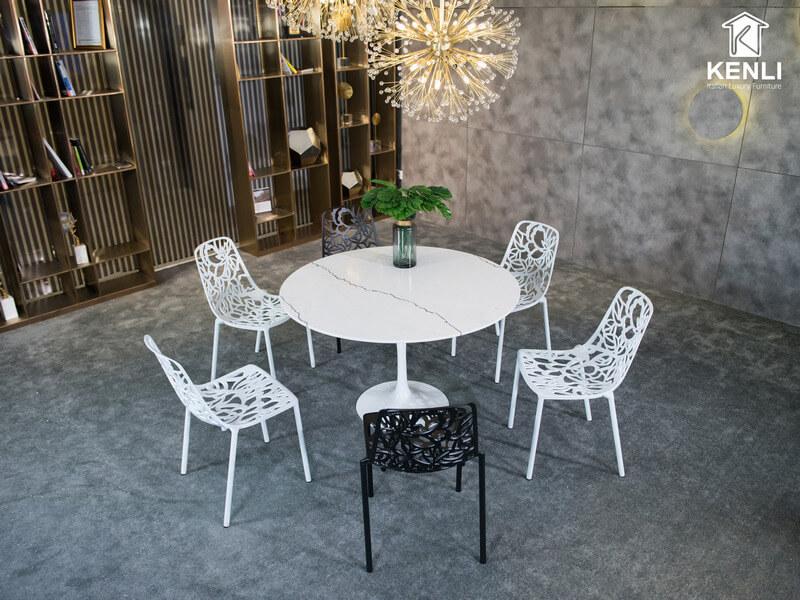 Bộ bàn ăn 6 ghế Tulip