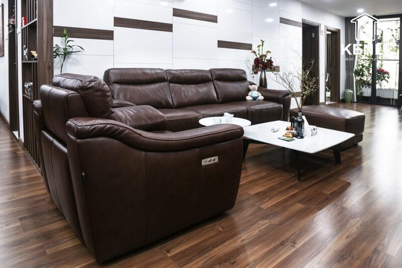 Bộ đôi bàn ghế sofa phòng khách nhập khẩu Italia