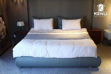 Giường bọc da nhập khẩu dẫn đầu mọi xu hướng nội thất