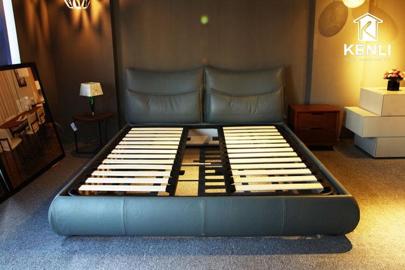 Phần khung giường da cao cấp