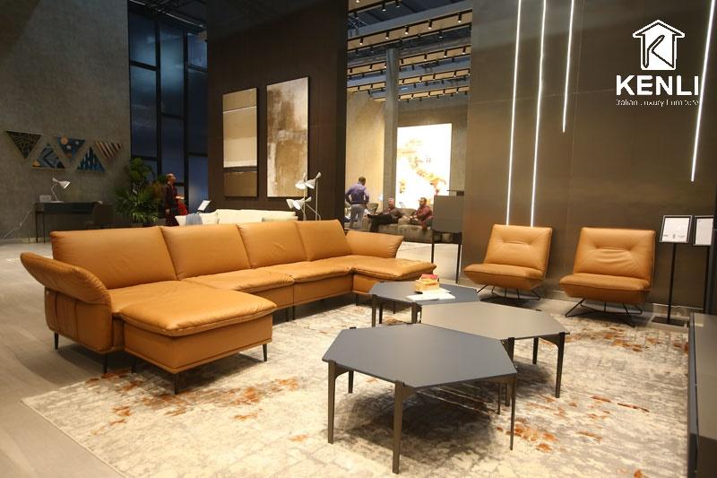 Tại sao nên mua ghế sofa da nhập khẩu tại Kenli?