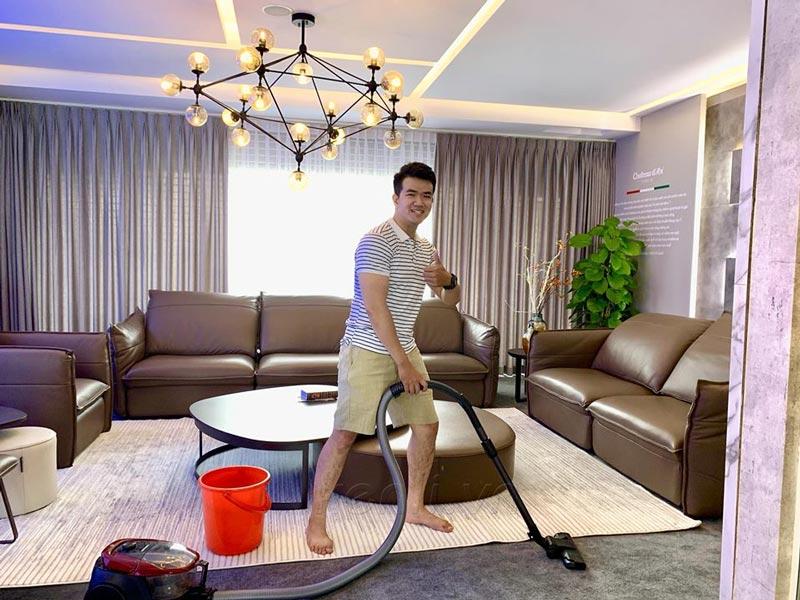 khi đàn ông làm việc nhà