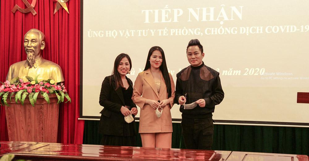 Kenli đồng hành cùng ca sĩ Tùng Dương ủng hộ 100 triệu để chung tay đẩy lùi dịch COVID-19