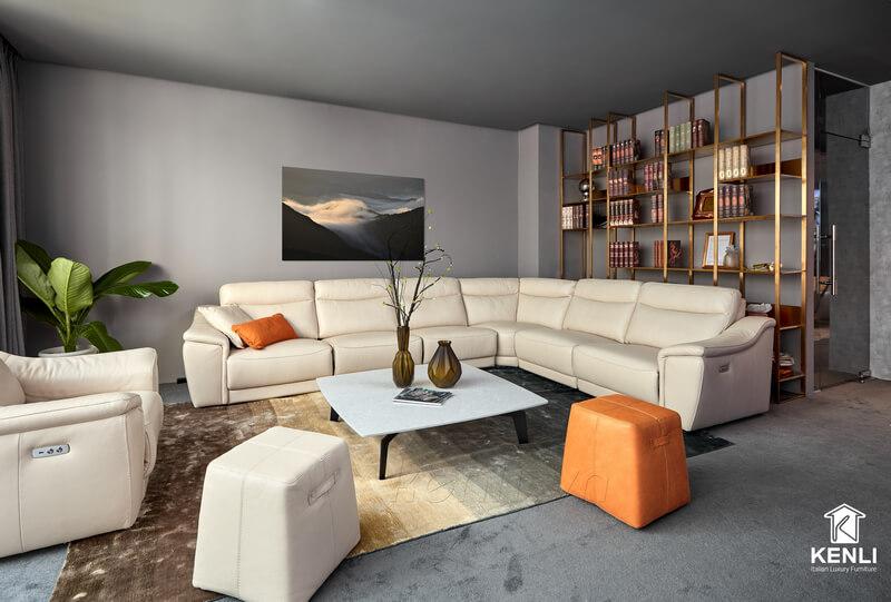 Các loại sofa da bò thật trên thị trường