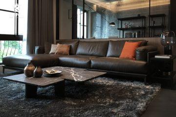 Thư giãn tuyệt đỉnh với ghế sofa nhập khẩu Ý