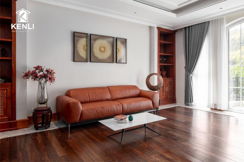 Sofa Xcomfort tại nhà khách ở Vũng Tàu