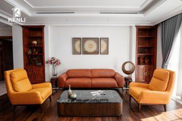 Sofa da Ý hiện đại – Tạo sự đơn giản không dễ dàng