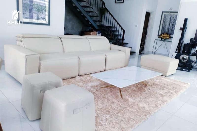 Cận cảnh sofa EE87 tại nhà khách