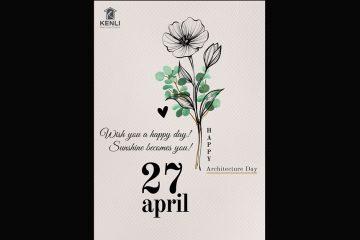 Nội thất Kenli chúc mừng ngày Kiến trúc sư Việt Nam 27/04/2020