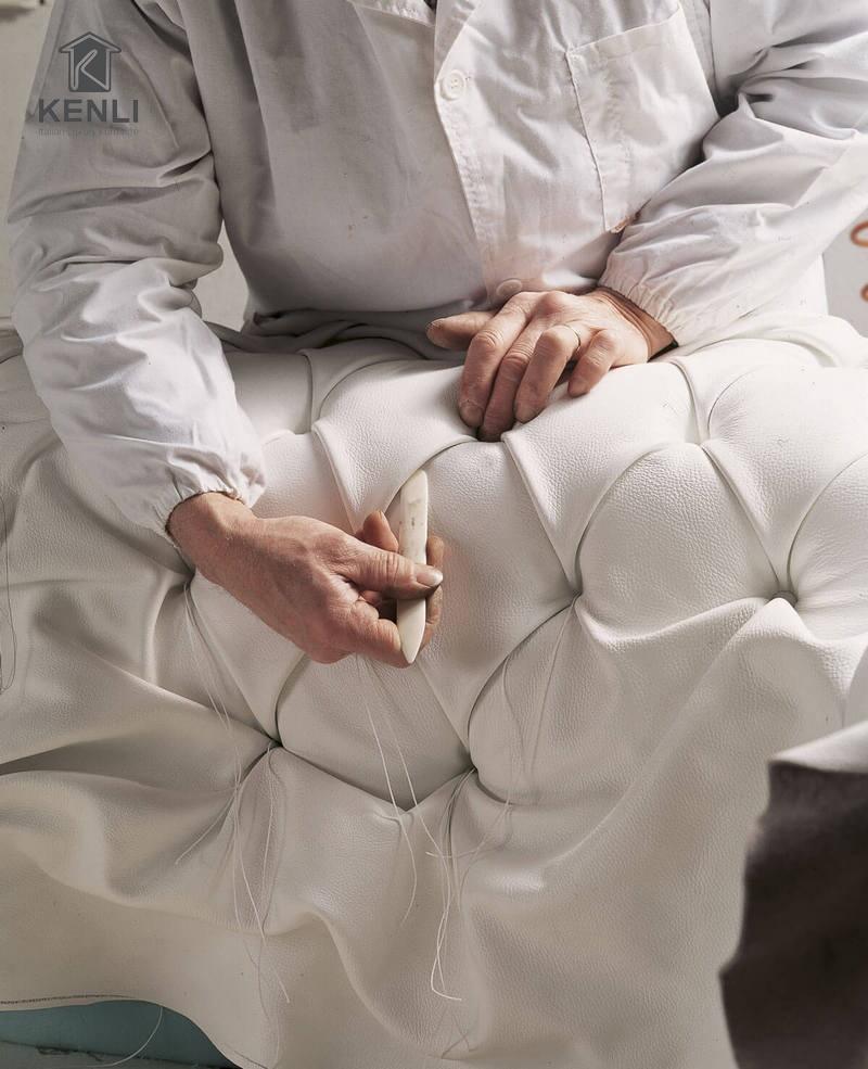 Công nghệ chế tác sofa thủ công hàng đầu nước Ý