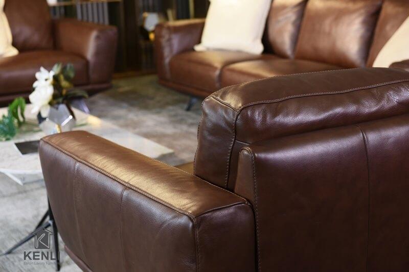 Ghế sofa da thật M&D