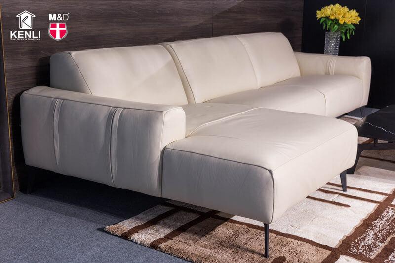 Ghế sofa da thật Sissy E119