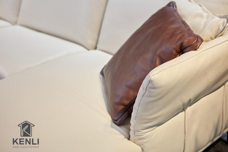 Sofa da thật cao cấp từ thương hiệu M&D