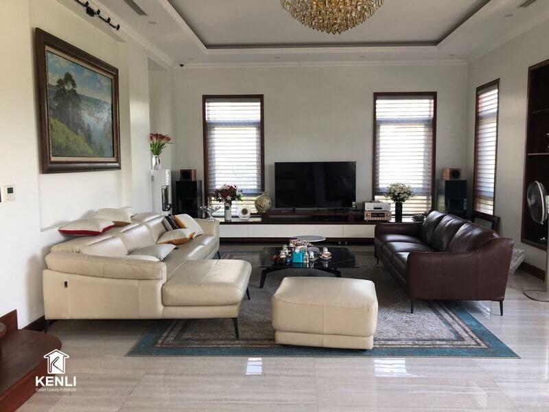 Tận hưởng hương vị cuộc sống với Full bộ Sofa F021 và E130