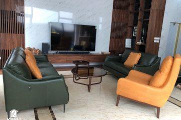 Sofa F010 phiên bản đặc biệt đã có mặt tại nhà khách ở Tây Hồ