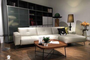 Tận hưởng cuộc sống tươi đẹp với sofa da thật OSLO