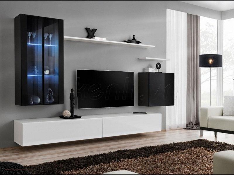 Kinh nghiệm chọn kệ tivi cho phòng ngủ hiện đại