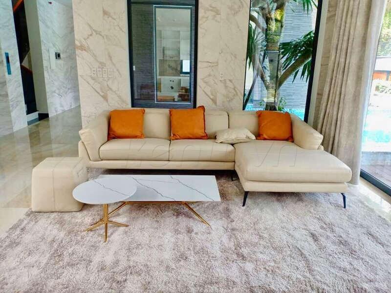 Sofa Florence (F021) tại nhà chị T – Quận Tân Bình