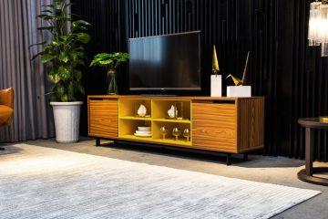 4 mẫu kệ tivi hiện đại làm sáng bừng phòng khách của bạn