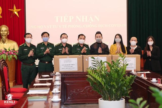 Nội thất Kenli đồng hành cùng ca sĩ Tùng Dương chung tay chống dịch Covid-19
