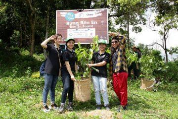 Trồng rừng Bến En 1.872 cây xanh