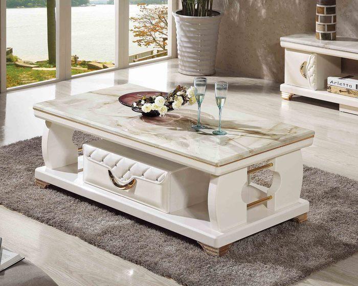 Một thiết kế bàn trà mặt đá tuyệt đẹp