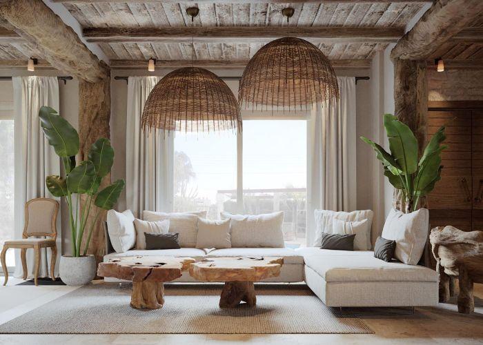 10 Mẫu Sofa Phong Cách Rustic Mộc Mạc Bình Yên