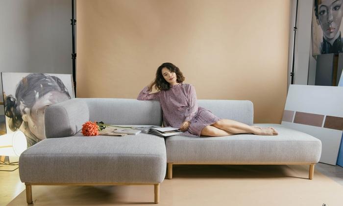 Chiếc sofa êm ái sẽ giúp bạn nhanh chóng cảm thấy thoải mái
