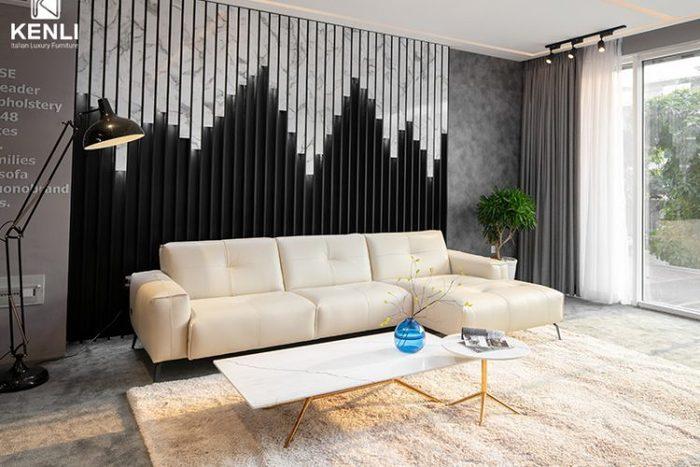Bạn có thể lựa chọn cho mình một mẫu sofa chữ L tuyệt đẹp với kích thước phù hợp