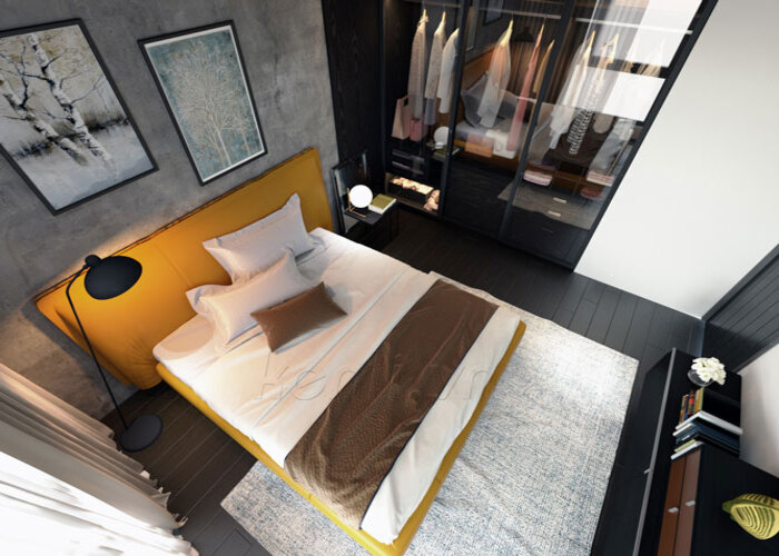 Giường ngủ Piega - Milano & Design