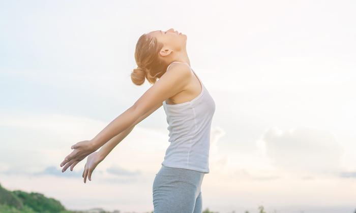 Kéo căng cơ là cách đơn giản giúp toàn bộ cơ thể được thư giãn
