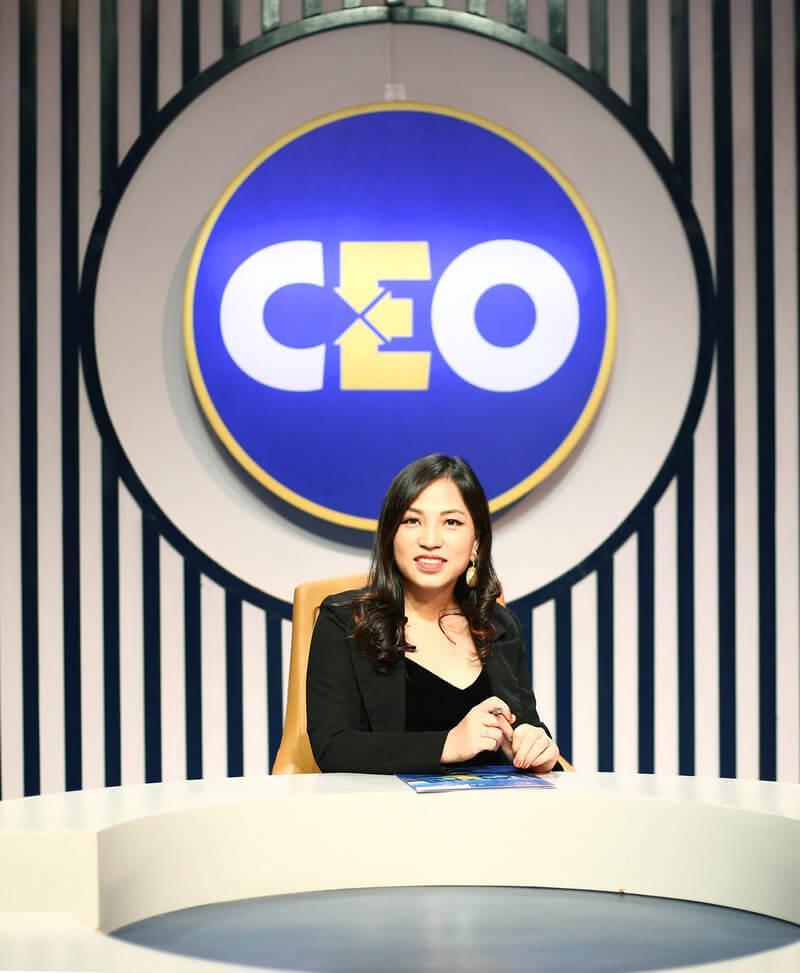 CEO Helen Lan tại chương trình chìa khoá thành công