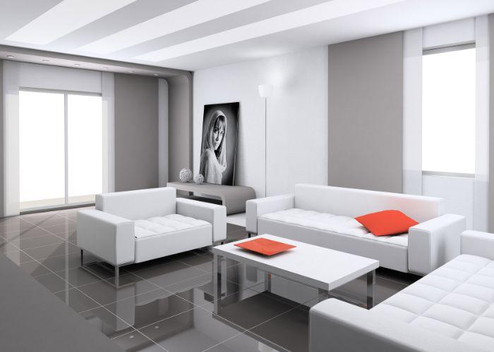 Bộ Sofa chữ U phong cách Hi - Tech ấn tượng