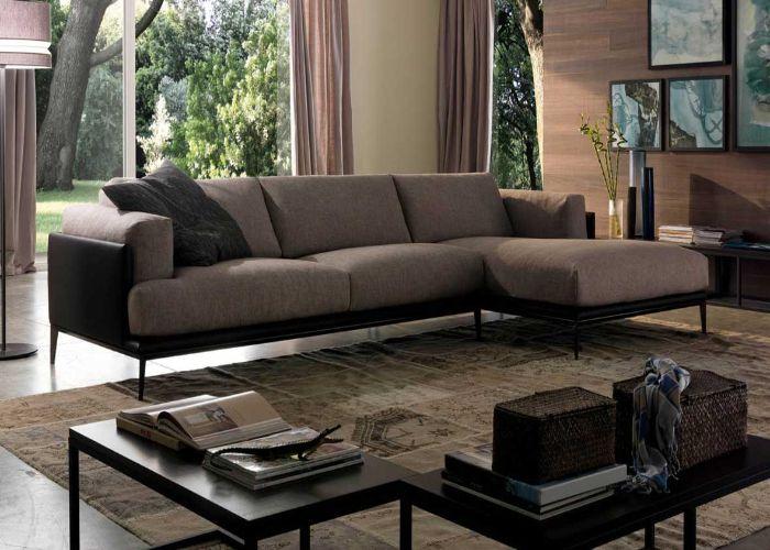 Bộ Sofa phong cách tối giản màu xám ấm áp