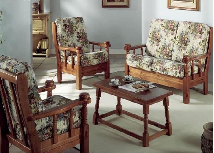 """Bộ Sofa vải nỉ phong cách Rustic """"căn nhà ngoại ô"""""""