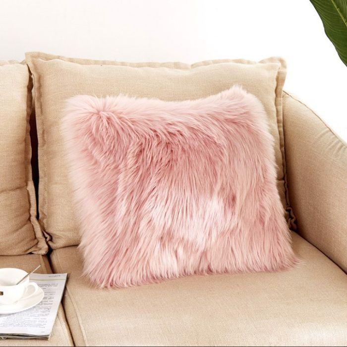 Gối tựa lưng Sofa lông mềm thời thượng