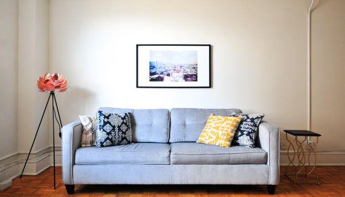 Sofa nỉ làm nên sự ấp áp cho căn phòng