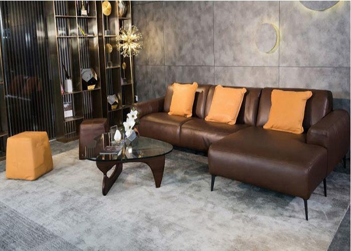 Mẫu Sofa chữ L SISSY phòng khách nhỏ