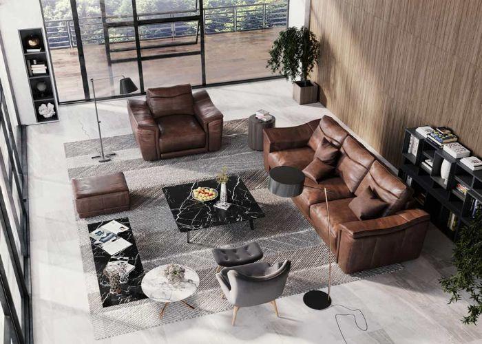 Mẫu Sofa chữ U văn phòng