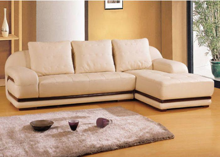 Mẫu Sofa góc gọn gàng