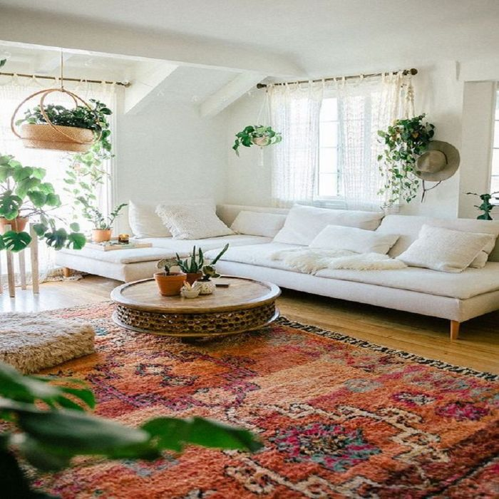 Mẫu Sofa phong cách Retro màu trắng sứ